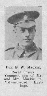 Eric W Mackie