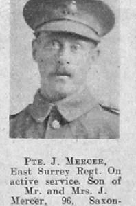 James H Mercer