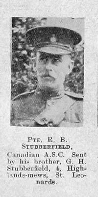 Robert Burton Stubberfield