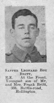 Leonard Roy Britt