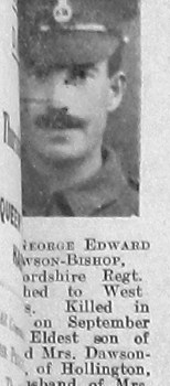 George Edward Dawson-Bishop