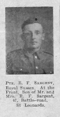 R F Sargent