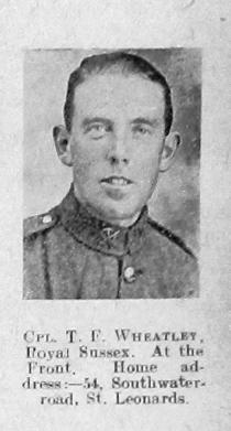 Thomas F Wheatley