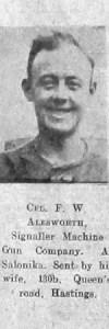 Alesworth, Frederick W