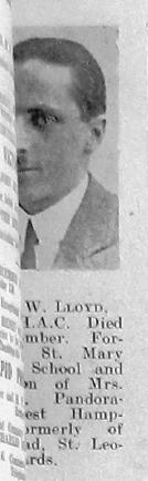 Mostyn W Lloyd