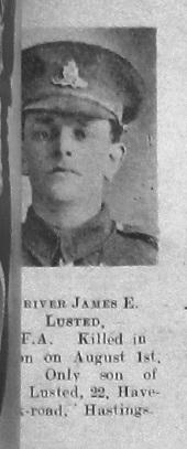 James E Lusted
