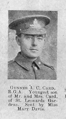 Albert C Card
