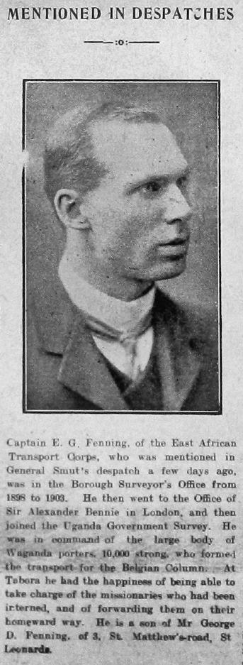 Edward George Fenning