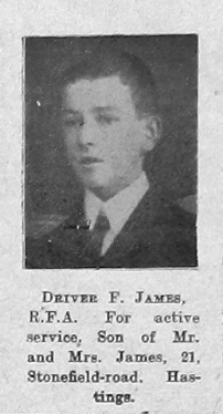 F James