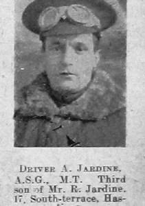 Arthur W Jardine