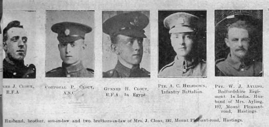 Clout, Helsdown & Ayling