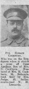 Cockburn, Horace