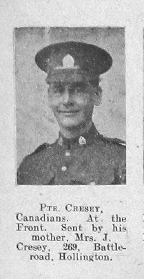 Cresey, Arthur Edward