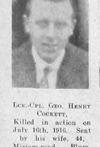 George Henry Cockett