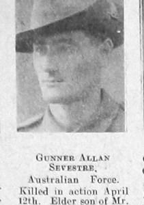Allan Beresford Sevestre