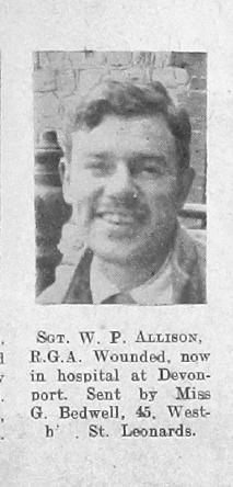 William P Allison