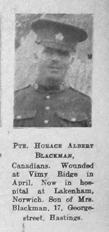Horace Albert Blackman