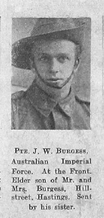 Burgess, Joseph William