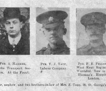 Tapp, Harmer, Fellows and Barton