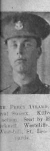 Aylard, Percy Frederick