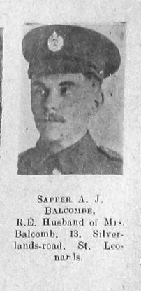 Arthur J Balcombe