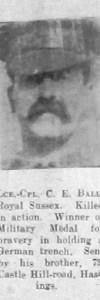 Ball, Charles E