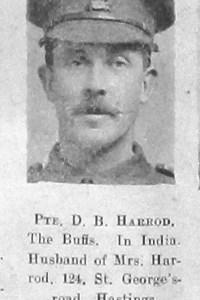 D B Harrod