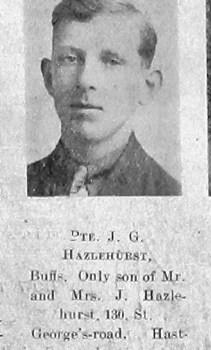 Joseph George Hazlehurst