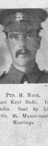 Hide, H