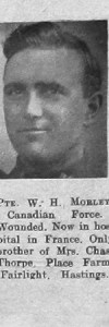 Morley, William Henry
