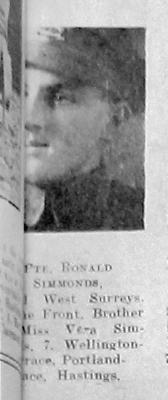 Ronald George Simmonds