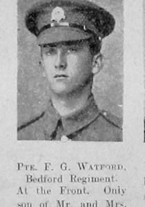 F G Watford