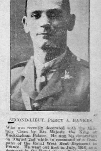 Bankes, Percy Abbott