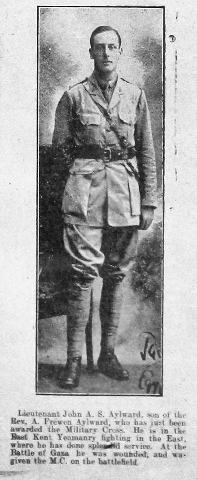 John Augustus Samuel Aylward