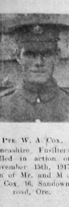 Cox, William Albany