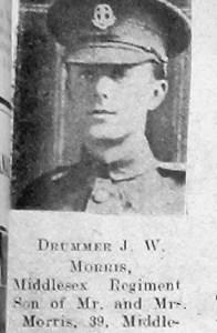 J W Morris