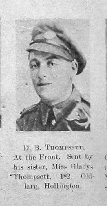 Thompsett, D B