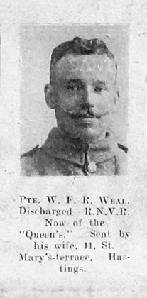 William F R Weal