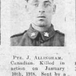 J Allingham