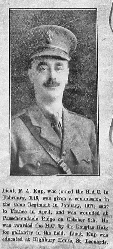 Frederick Auton Kup