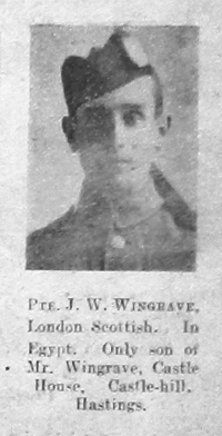 J W Wingrave