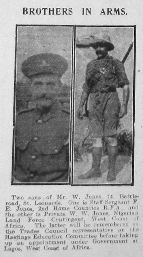 F E Jones & W W Jones