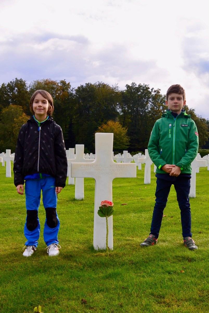 Clifford L. Melkert gravesite, Epinal, France