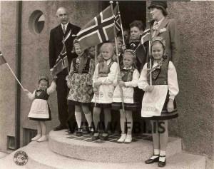 Norsku Sendiherra hjonin