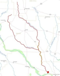 300x378 Willacoochee River, Fitzgerald, Ben Hill County, Ocilla, Irwin County, Berrien County, GA, in Streamer, by John S. Quarterman, for WWALS.net, 4 July 2014