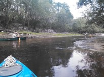 1600x1200 Dave Hetzel @ shoals, in Alapaha River Outing, by John S. Quarterman, for WWALS.net, 24 August 2014