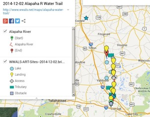 300x235 Alapaha River Legend, in Alapaha River Water Trail draft map, by John S. Quarterman, for WWALS.net, 2 December 2014