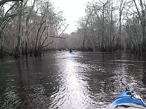 300x225 Movie: Boaters (1.7M), in Alapaha deadfalls, by John S. Quarterman, for WWALS.net, 17 January 2015