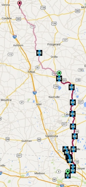 300x654 Alapaha River Bridges, in Alapaha River Water Trail, by John S. Quarterman, for WWALS.net, 27 March 2015