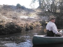 640x480 Chris Mericle explains it all, in Statenville to Sasser Landing on the Alapaha River, by John S. Quarterman, for WWALS.net, 15 February 2015